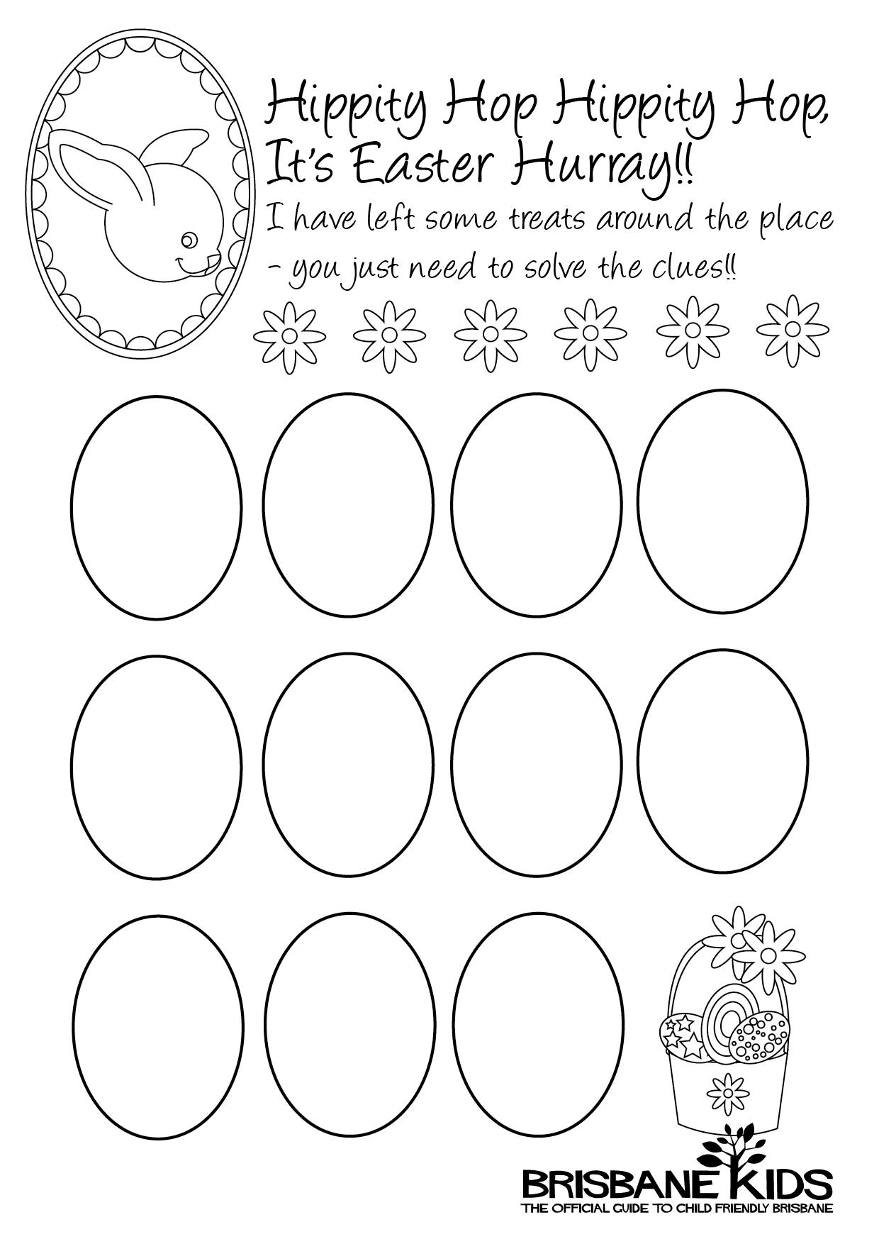 Egg Citing Easter Egg Hunt Ideas
