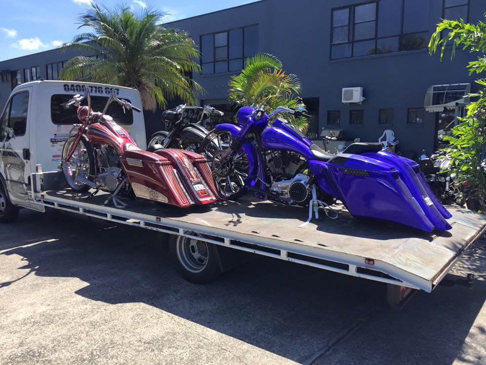 3 Custom Choppers