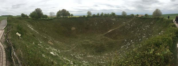 The Lochnagar Crater (pic by Jack W)