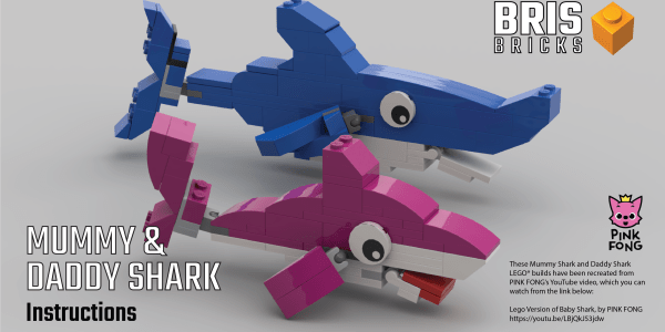 Build Mummy and Daddy Shark! (Part 2)