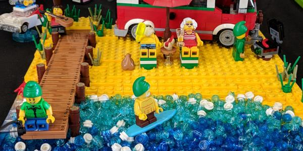 Brisbricks took its LEGO displays to Logan Village