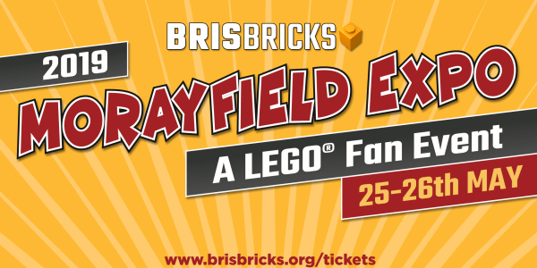 TICKETS SOLD OUT: BrisBricks 2019 Morayfield Expo