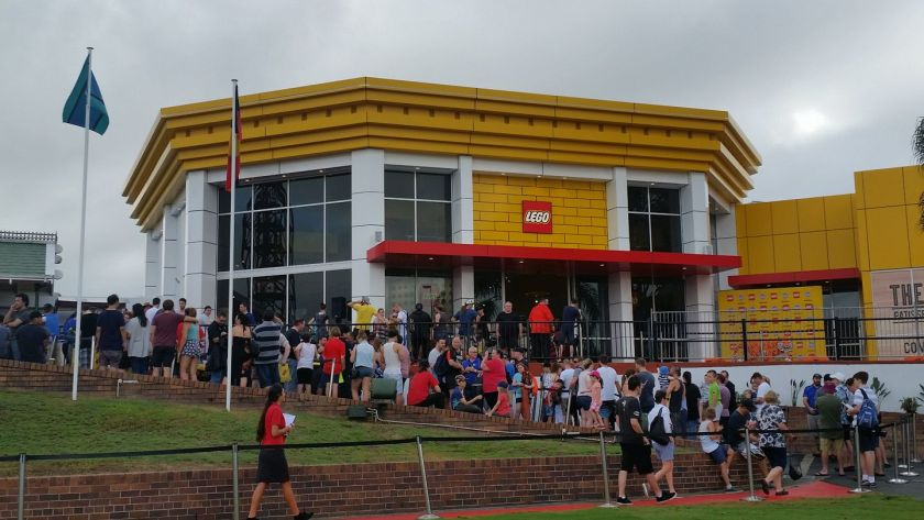 Lego Store Opens