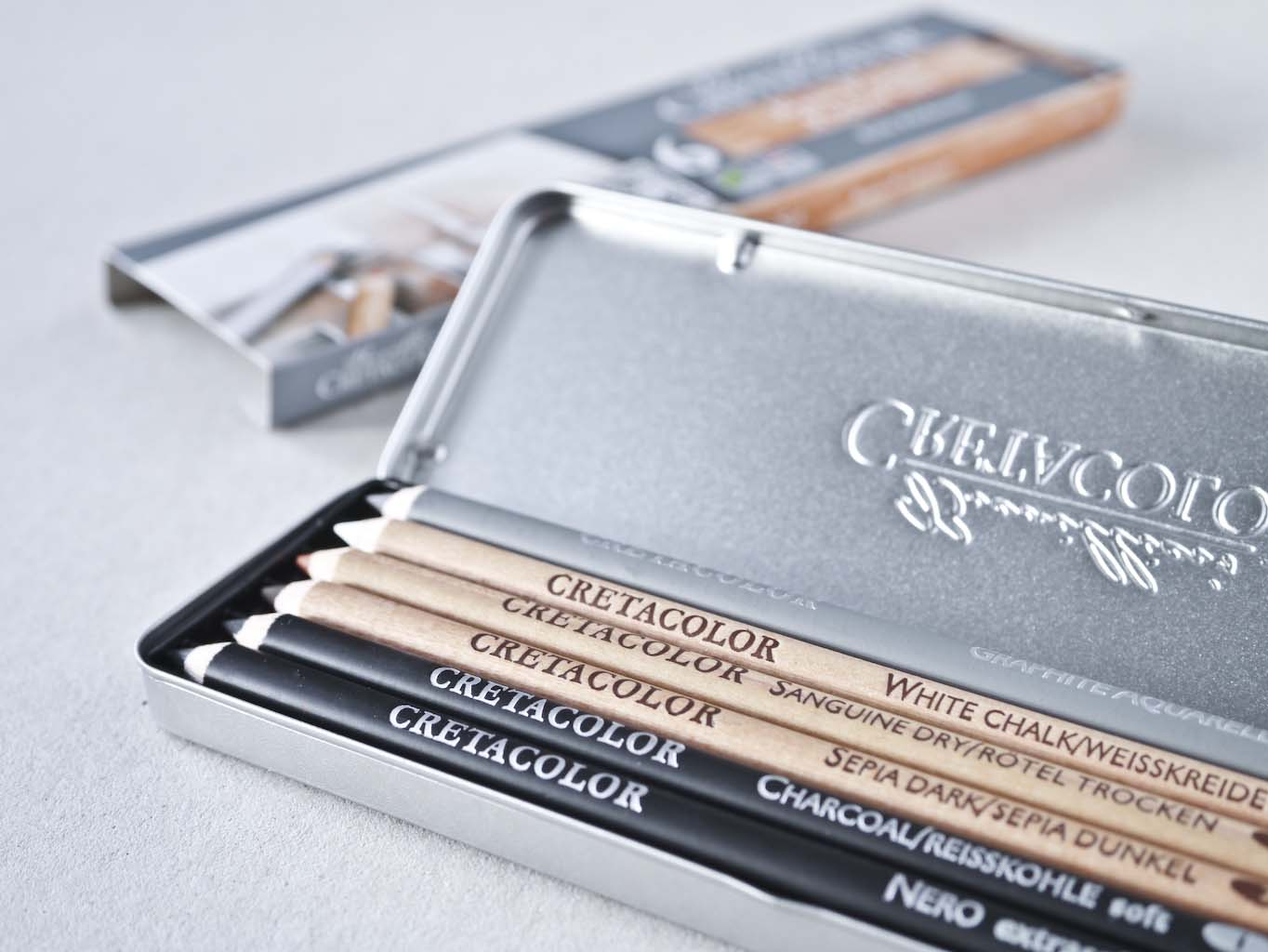 Cretacolor Basic Pencil Pocket Set