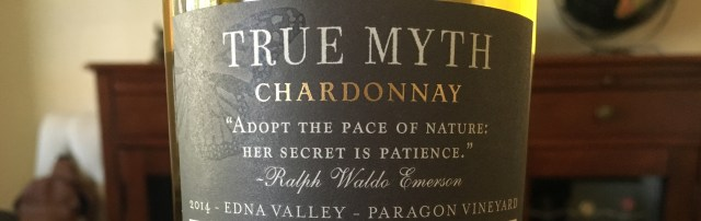 True Myth 2014 Chardonnay_Back Label