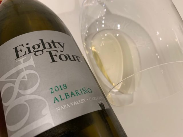 eighty four wines albariño