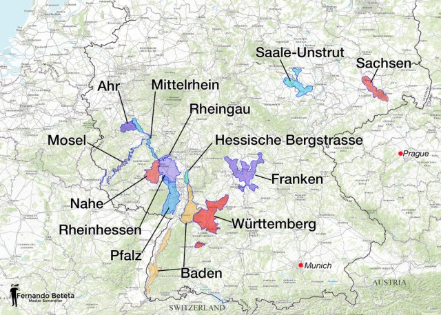 Germany Wine Region Overview; Fernando Beteta