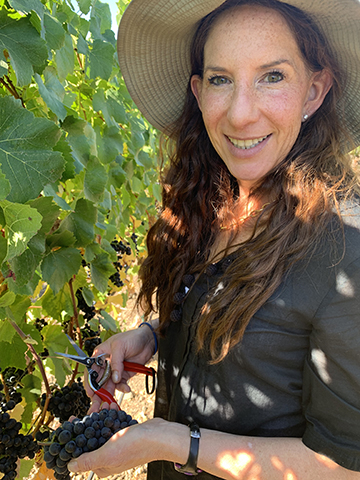Kerith Overstreet is the winemaker at Bruliam Wines.