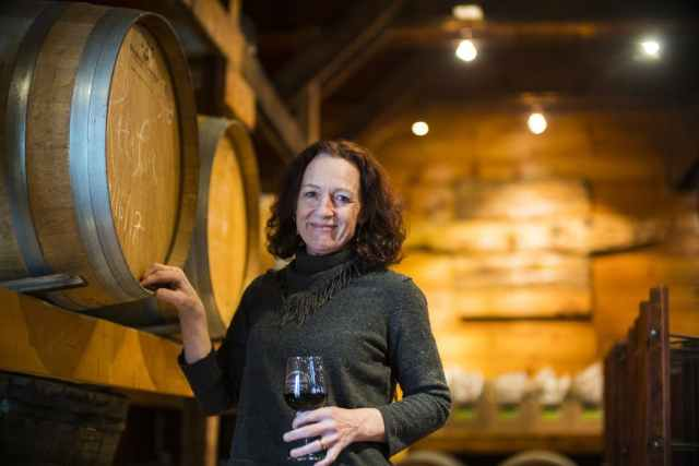 RICHARD TSONG-TAATARII – STAR TRIBUNE FILE Nan Bailly at her winery, Bailly Vineyards in Hastings, was the top plaintiff in the lawsuit against state law requiring Minnesota vineyards to have 51% homegrown grapes in the wines they sell.
