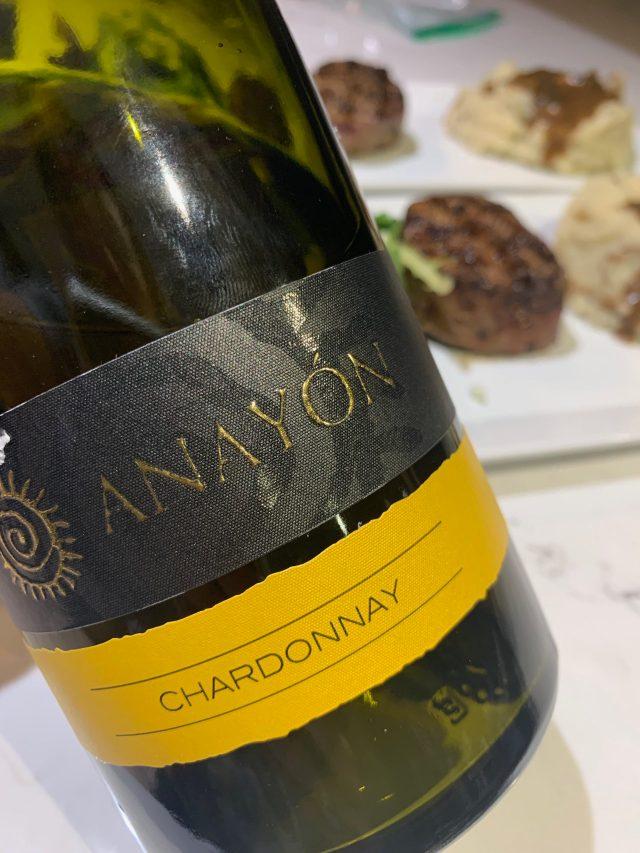 Grandes Vinos 2019 Anayon Chardonnay
