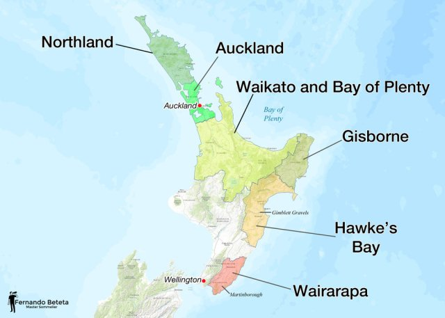 North Island, New Zealand; Fernando Beteta