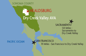 Dry Creek Valley AVA; https://www.drycreekvalley.org/