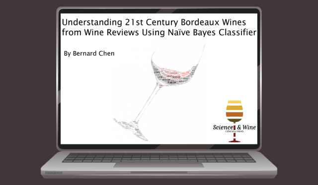 With the benefit of using Naïve Bayes classifier, we were able to find the important wine characteristics/attributes toward 21st century classic and outstanding Bordeaux wines.