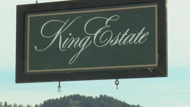 King Estate Winery in Eugene, Oregon