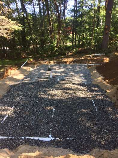 Septic replacement project.