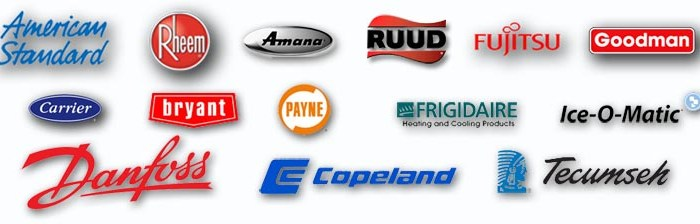 Brisk Air Conditioning, LLC Venice FL brands we carry