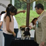 Ozzie showing with Claudia Garzon in Colombia