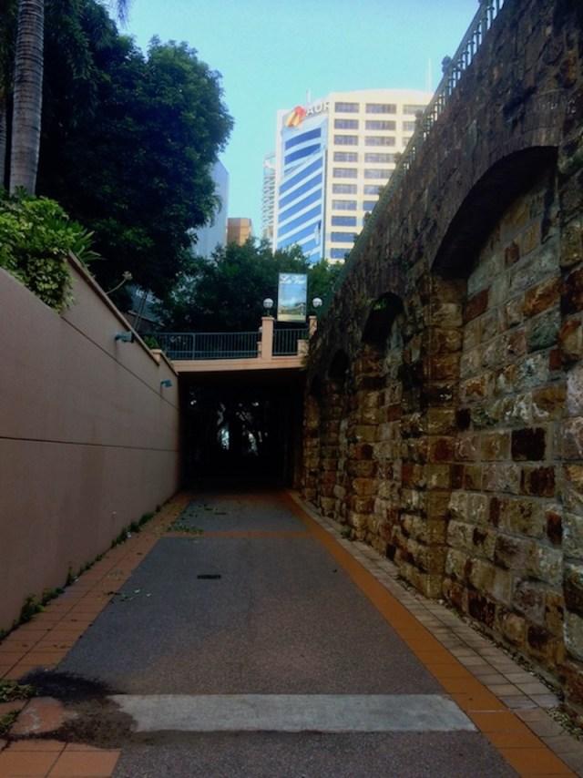Petrie Bight Wall