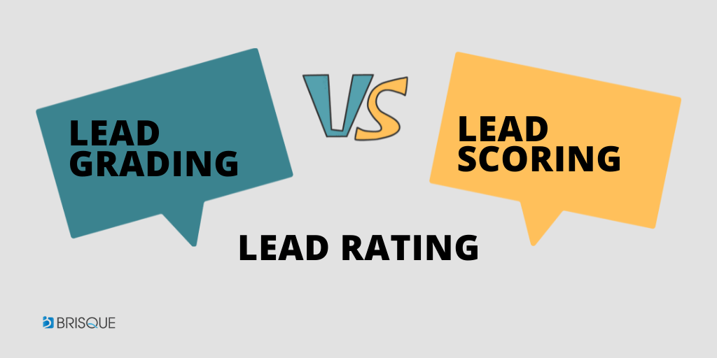 LEAD GRADING LEAD SCORING LEAD RATING COMPARISON
