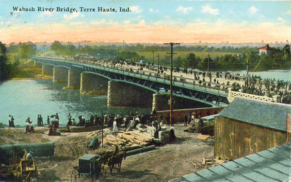Image result for Terre Haute bridge