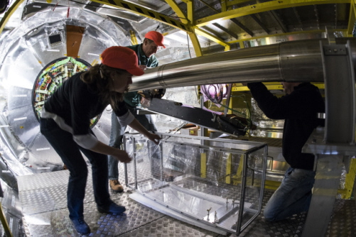 April The Large Hadron Collider Powers Up Again News