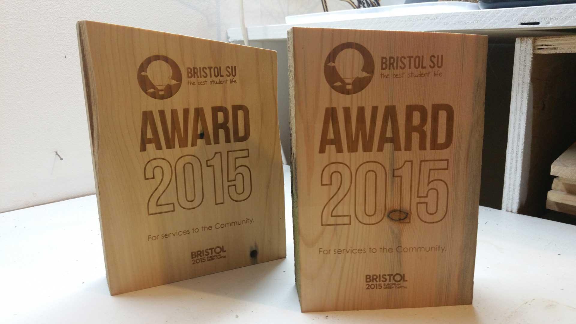 laser cut Awards