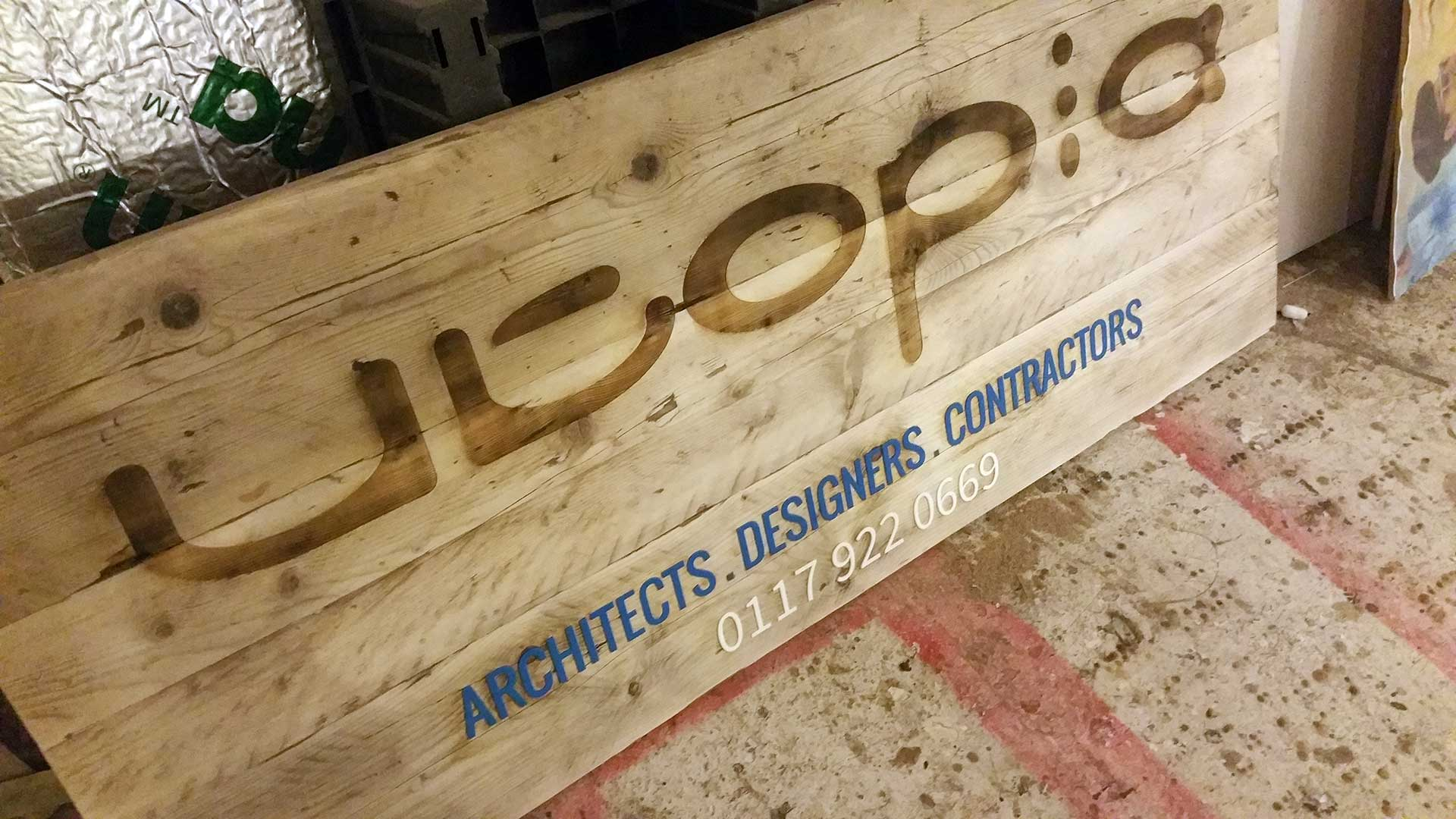 laser cutting services from the bristol design forge