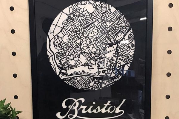 Bristol Card Map