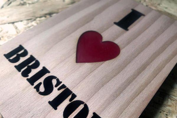 i heart bristol close up