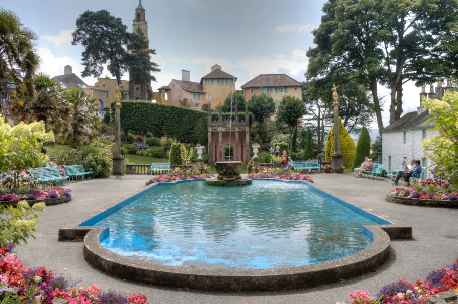 Anne Roberts --The centre of Portmeirion 1