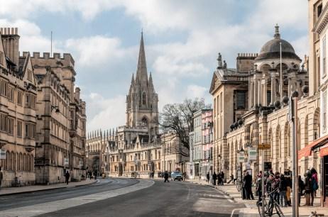David Nicholls -- Oxford- High Street
