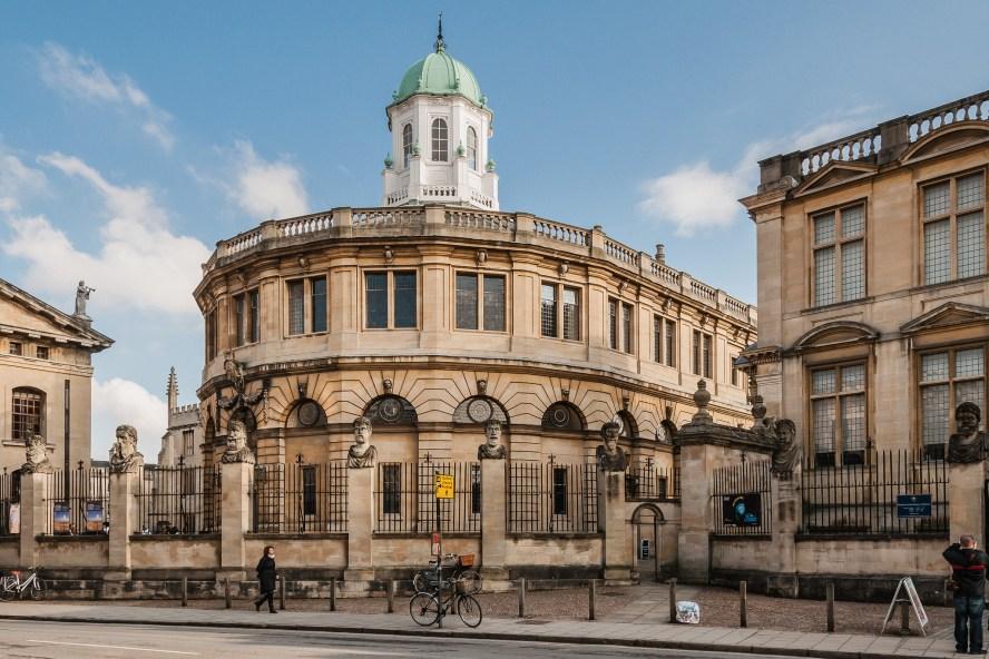 David Nicholls -- Oxford- Sheldonian Theatre