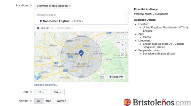 Españoles residentes en Manchester