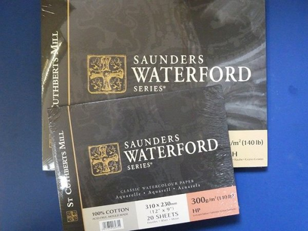 Saunders Waterford Watercolour Pads - 300gsm