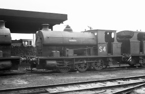 No. S4 'Percy' (Avonside Engine 1800 of 1918) at the Port of Bristol Authority, Avonmouth 21/7/63