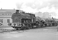 PBA Peckett 0-6-0ST S8 'Westbury' at work Avonmouth Docks, 6/62