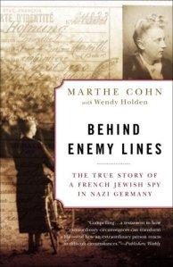 Behind Enemy Lines Marthe Cohn Hoffnung