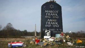 Anne Frank Memorial Tombstone Bergen Belsen AP
