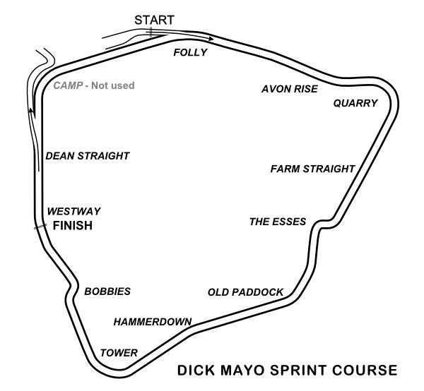 Dick Mayo Sprint Course
