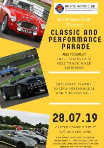 2019 Classic and Performance Parade