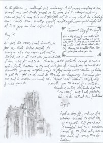 Jonathan's Rehearsal Diary 2 - Click on an image to enlarge to read