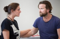 Dean Lennox Kelly & Neve McIntosh in Rehearsals - Photography by Mark Douet
