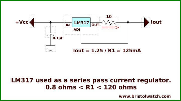 Constant Current Circuits With The LM334