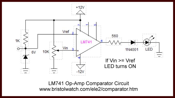 Voltage Comparator Circuits