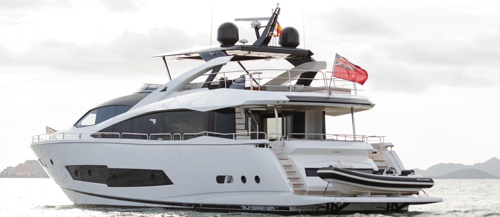 Sunseeker 86 Yacht - Exterior-2