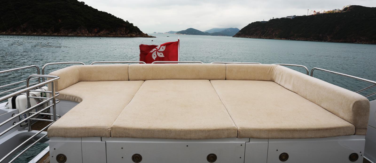 Sunseeker-30-Metre-Yacht-Coraysa-Flybridge-Sunpad