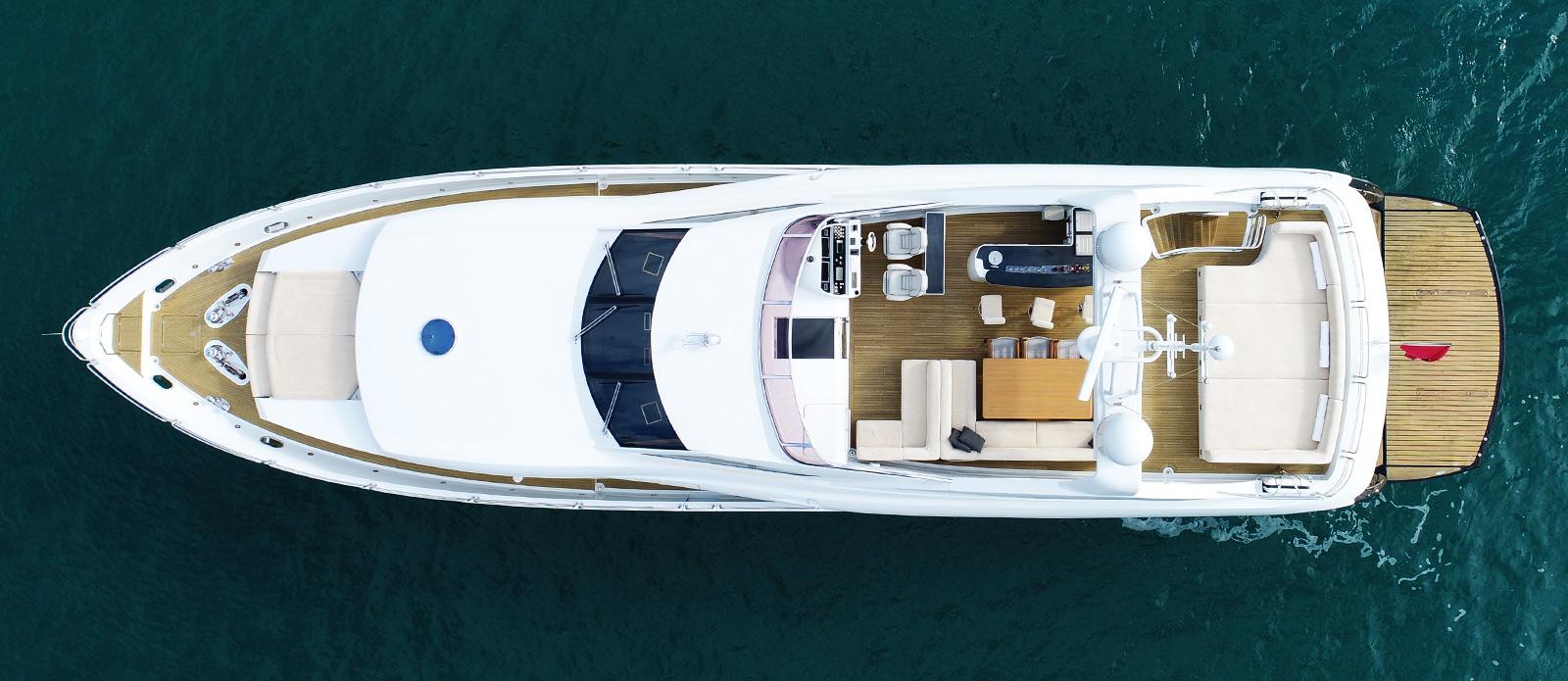 Sunseeker-30-Metre-Yacht-Coraysa-Overhead