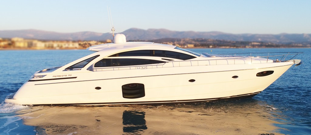 Pershing 70 Zego For Sale White 70 Superyacht