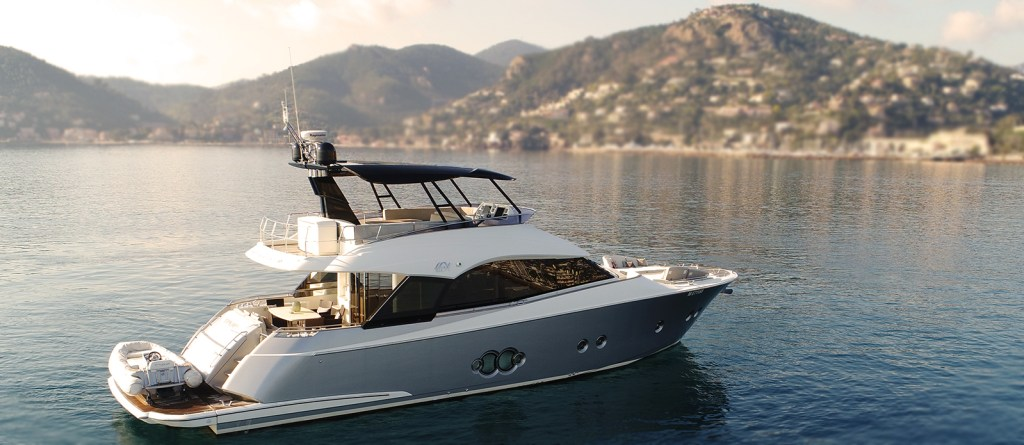 Monte Carlo Yachts 'Topkapi' For sale exclusively with Bristow-Holmes