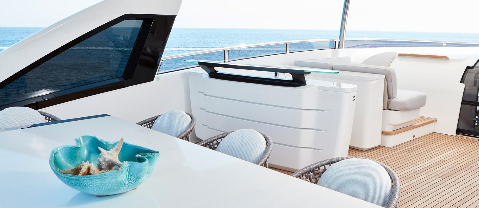 Princess 30 Metre Yacht Bandazul - Bar